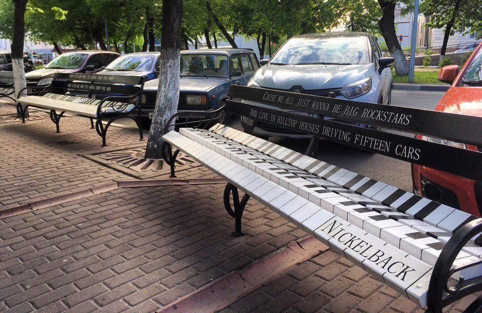 Лавочки пианино Ульяновск